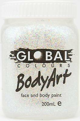 SILVER GLITTER - FACE & BODY PAINT - 200ml