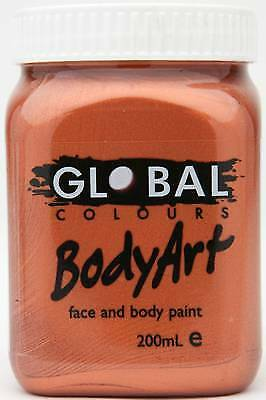 METALLIC COPPER - FACE & BODY PAINT - 200ml Jar