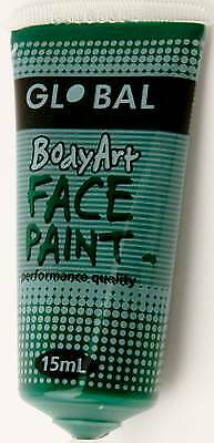 DEEP GREEN - FACE & BODY PAINT - 15ml Tube