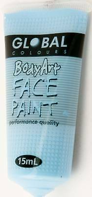 LIGHT BLUE - FACE & BODY PAINT - 15ml Tube