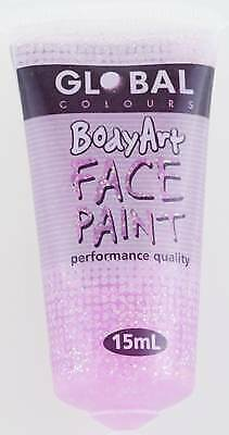 PINK GLITTER - FACE & BODY PAINT - 15ml Tube