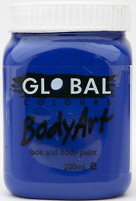 ULTRA BLUE - FACE & BODY PAINT - 200ml Jar