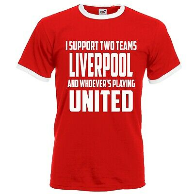 Retro Football Shirt Liverpool Vs Manchester United Funny Fathers Day