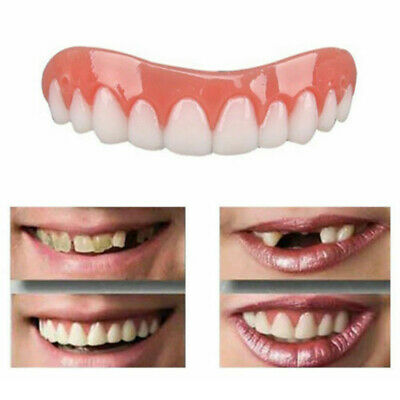 Smile Perfect Snap TOP Veneers Instant Cosmetic Teeth Cover Fix Cap Bottom On