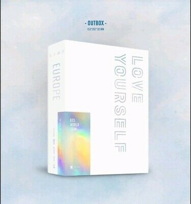 Pre-Order Bts World Tour [ Love Yourself - Europe] Blu-Ray