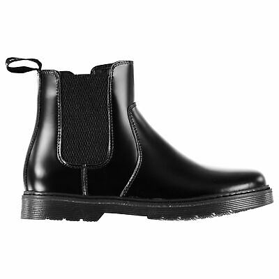 Kangol Judd Ankle Boots Childs Girls Black Shoes Boot Kids Footwear