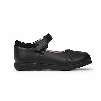 Miss Fiori Tara T Bar Shoes Childs Girls Black Kids Footwwear