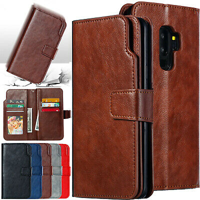 For Samsung S10 5G A50 A30 A70 A20 Leather Magnetic Card Slot Wallet Case Cover