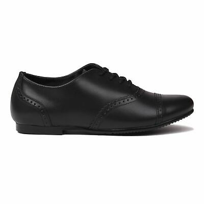 Kangol Skipton Shoes Childs Girls Black Kids Footwwear