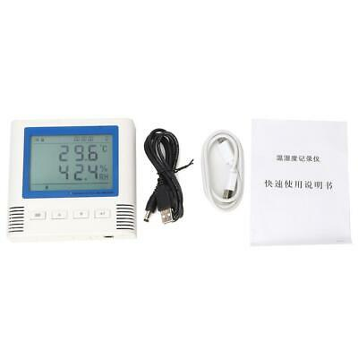 USB LCD Display Temperature Humidity Data Logger Temperature Recorder Monitor