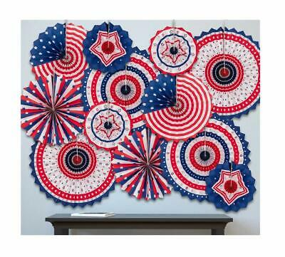 20/' Long Patriotic Red White /& Blue Bunting Fourth of July 4th Decoration USFlag