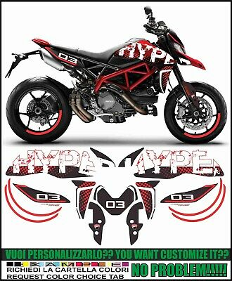 kit adesivi stickers compatibili  HYPERMOTARD 950 CONCEPT 03