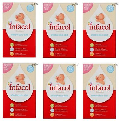 Infacol - Colic Relief Drops for Babies - 85ml - Value Pack of 6