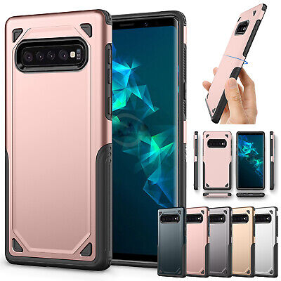 For Samsung Galaxy S10 5G S10 Plus Case Heavy Duty Hybrid Rubber Hard Back Cover