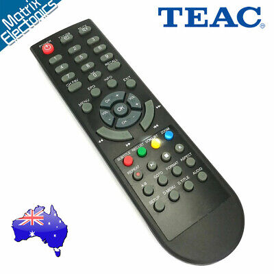 Replacement TEAC Remote Control for Set Top Box Model HDB850 New