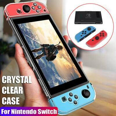 5-in-1 Protective Hard Case Cover For Nintendo Switch Transparent Shockproof UK