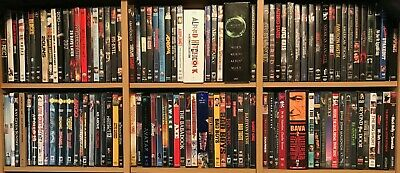 RARE Group Lot Collection NEW DVD and Blu-Ray Movies - OOP