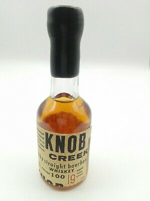 Miniature mignon minibottle Whisky Bourbon Knob Creek 100 proof