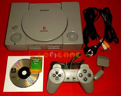 CONSOLE Sony PLAYSTATION 1 (Universale) PS1 + Memory card + Gioco - USATA