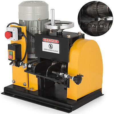 Electric Wire Stripping Machine Portable Powered Comercial 1.5KW Cable Stripper