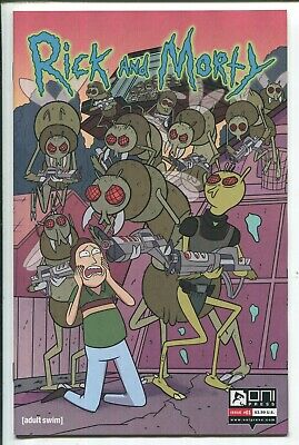 RICK and MORTY #1 2 3 4 5 50 ISSUES SPECIAL CONNECTING SET - ONI PRESS/2019