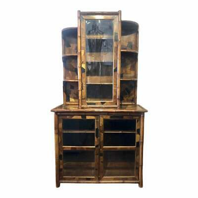 Very Rare 19th Century English Bamboo Bookcase
