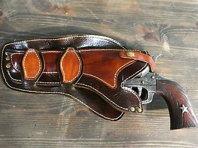 OLD WEST LEATHER Revolver Holster Collectible - $109 99