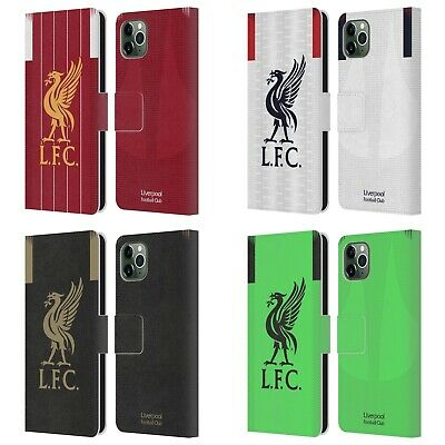 LIVERPOOL FC LFC 2019/20 KIT PU LEATHER BOOK WALLET CASE FOR APPLE iPHONE PHONES