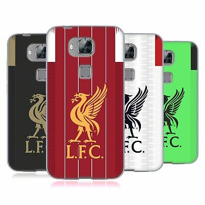 Official Liverpool Football Club 2019/20 Kit Soft Gel Case For Huawei Phones 2