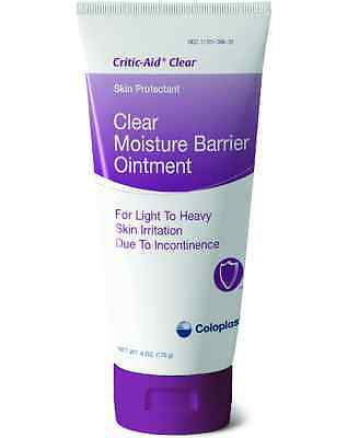 3 PACK! Coloplast 7567 Critic-aid Clear Moisture Barrier Ointment 6 oz Tube