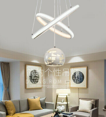 Iron Earth Chandelier Pendant Lamp LED Ceiling Light Silica Gel Ceiling Fixtures