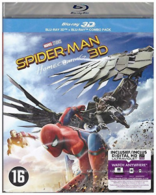 Spider-man - Homecoming (3D) - BLU-RAY NUOVO