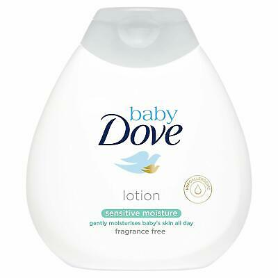 5 X Baby Dove Baby Lotion Sensitive Moisture 200Ml Fragrance Free Hypoallergenic