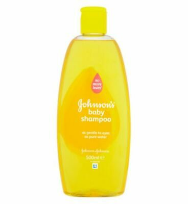 3 x Johnsons Baby Shampoo No More Tears 500ml = 1.5L Bargain Offer