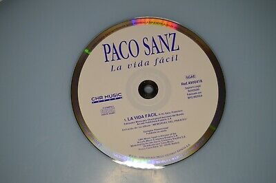Paco Sanz - La vida facil. CD-SINGLE PROMO. CD-Single Promo