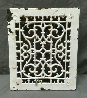 Antique Highton & Son Decorative Heat Grate Floor Register 12X10 276-19L