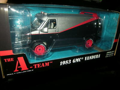 1:24 Greenlight The A-Team GMC Vandura 1983 in OVP