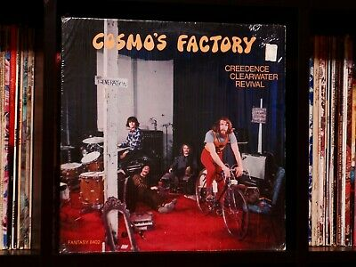 Creedence Clearwater Revival ♫ Cosmo's Factory ♫ 1970 Fantasy Vinyl LP in Shrink