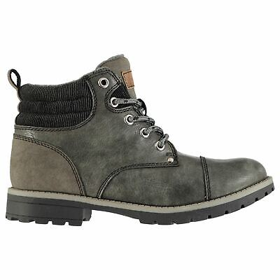 Soviet Chester Boots Childs Boys Grey Shoes Boot Kids Footwear