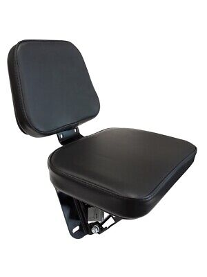 Tractor Seat Cup Passenger Seat Jump Seat Foldable Universal Tractor New