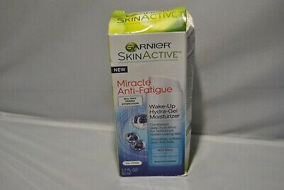 Garnier SkinActive Miracle Wake-Up Hydra-Gel Moisturizer 1.7 oz DENTED BOX