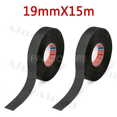 2roll Cloth Tape Wire electrical wiring harness car auto suv truck 19mm*15m