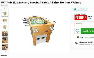 5 ft Pub sized Soccer/ Foosball table