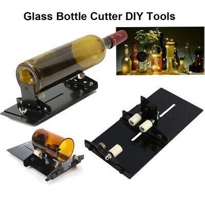Glass Bottle Cutter Kit Craft Adjustable Art Cutting Machine Tool Jar Recycle