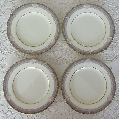 """9748 6.5/"""" Gray//Tan Marble: Bread Plate Shells Noritake Stanford Court s"""