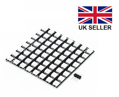 WS2812B 64 Bit (8*8) 5050 CJMCU 5V LED RGB Pixel Board for Arduino, RasPi etc