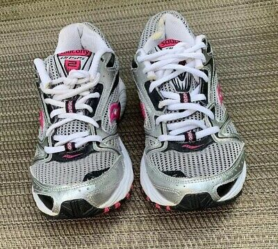 1e03bbde8a80 Saucony Oasis 2 Womens Running Shoes Size 7.5US Style S15209-1 Silver/Pink