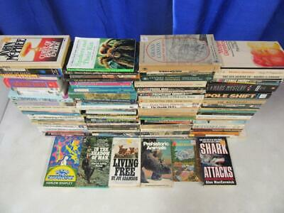 HUGE Lot of (120) SCIENCE NATURE OUTDOORS ANIMALS BIOLOGY BOTANY ASTRONOMY Books