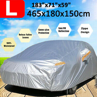 Full Car Cover Waterproof Dust Scratch Protection Dustproof For BMW 3 4 Series