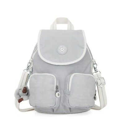 3332f913be Kipling Firefly UP Small Backpack Shoulder Bag ACTIVE GREY BL SS19 RRP £87